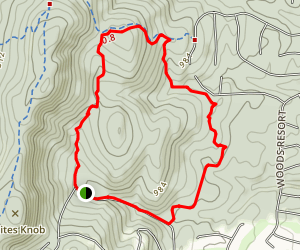 Wintercamp Loop Map