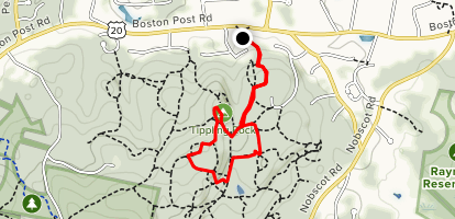 Bay Circuit Trail and Fire Break Trail Loop Map