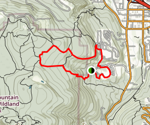 Cougar Mountain | Talus Loop Map