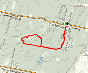 Mont Rigaud Loop Map