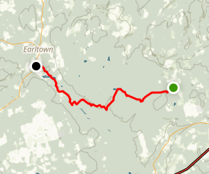 Gully Lake Wilderness Area Trail Map