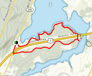 Salt Bay Heritage Trail  [PRIVATE PROPERTY] Map