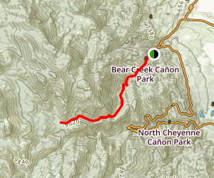 Trail 666 Map