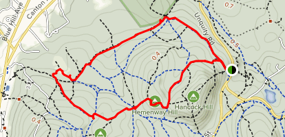 Breakneck Ridge, Puddle and Wolcott Path, and Chestnut Run Loop  Map