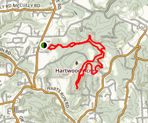Hartwood Acres Map