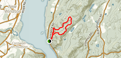 Breakneck Bypass Loop Trail Map
