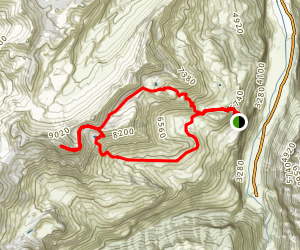 Murren Loop Trail Map