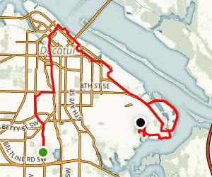 Decatur Bike Trail Map