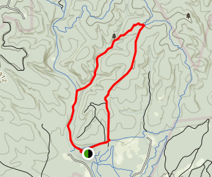 Wildcat Canyon to Sendero Balcones Loop Trail Map