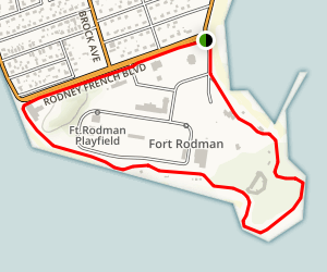 Fort Taber Loop Map
