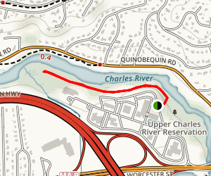 Upper Charles River Reservation Boardwalk Map