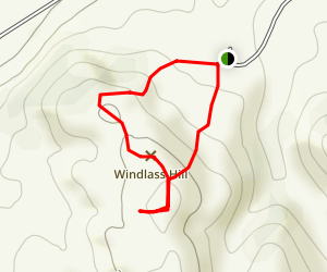 Windlass Hill Trail Map