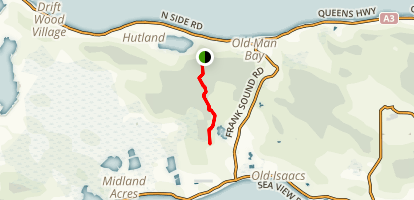 Mastic Trail Map