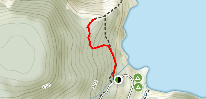 Meat Cove Overlook Map