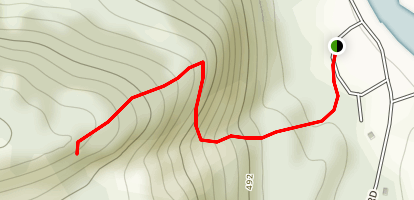 Mount Cutler Day Hike Map