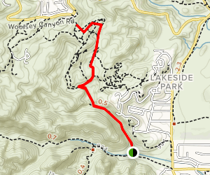 Woolsey Horse Trails  Map