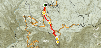 Moro Rock Full Trail Map