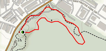 Suwanee Creek Park Loop Map