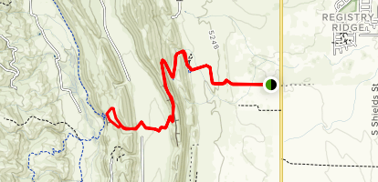 Rim Rock Trail Map