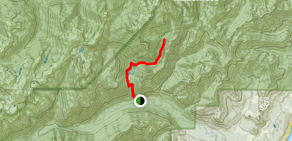 East Fork Lena Creek via The Brothers Trail #821 Map