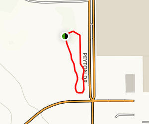 Chino Hills Community Park Loop Map