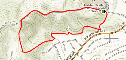 Hidden Trails Loop Map