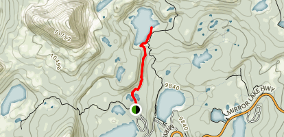 Wall Lake Map