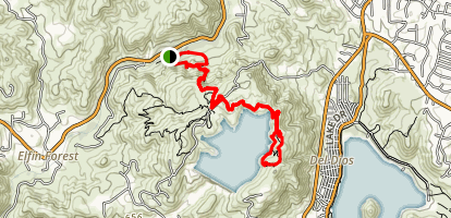 Elfin Forest Olivenhain Reserve Loop Trail Map