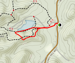 Siltstone Trail and Tom Wallace Lake Loop Map
