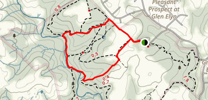 Gunpowder Falls State Park Loop Map