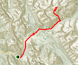 Tombstone and Banded Peak Map