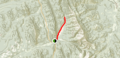 Upper Falls Trail Map