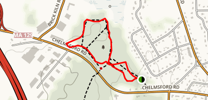 Fitness Trail Loop Map