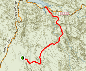 Canyon Lake Trail Map