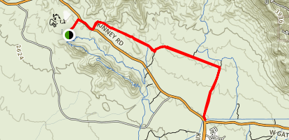 Cougar Trail Map