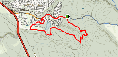 Crystal Point Loop Trail Map