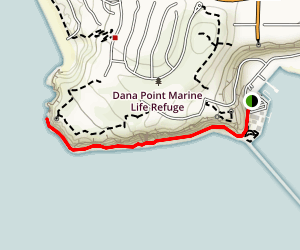 Dana Point Beach Trail Map