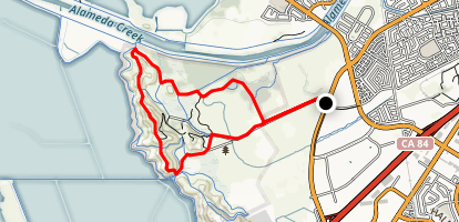 Everyday Circuit- Tuibun, Red Hill, Bayview, and Chochenyo Trails Map