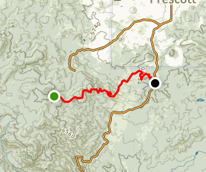 Prescott Circle Trail: Segment 04 Map