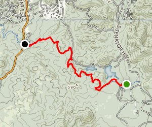 Prescott Circle Trail: Segment 05 Map