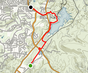Prescott Circle Trail: Segment 09 Map