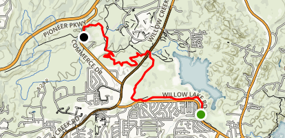 Prescott Circle Trail: Segment 10 Map