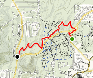 Prescott Circle Trail: Segment 11 Map