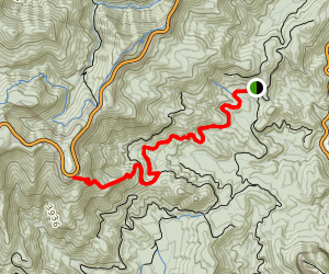Seniard Ridge Map