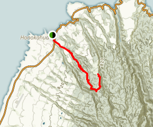 Mahana Ridge Trail Map