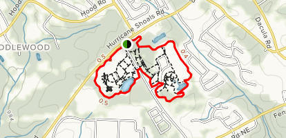 Rabbit Hill Park Outer Loop Map