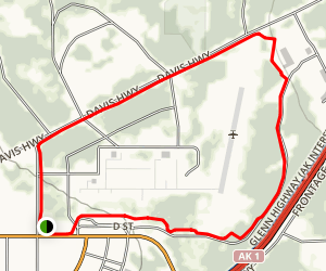 Buckner Fitness Trail Map