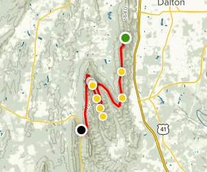 Pinhoti - Dug Gap to Snake Creek Gap Map
