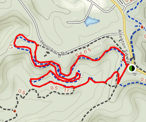 Dogwood Trail: Short Loop Map
