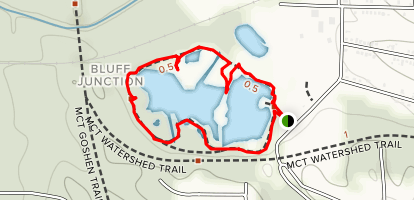 Watershed Nature Center Map